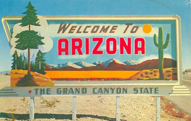 Welcome To Arizona With Images Arizona Arizona Travel Most