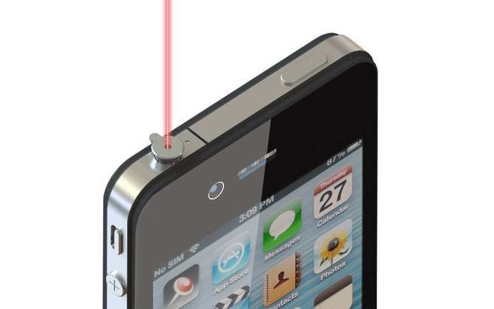 iPin Laser Presenter for smartphone Cool technology