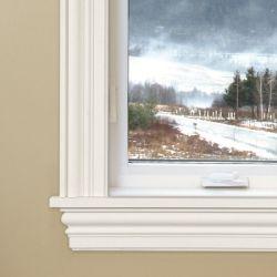 Cadrage de fen tre plafond pinterest plafond for Tablette fenetre interieur bois