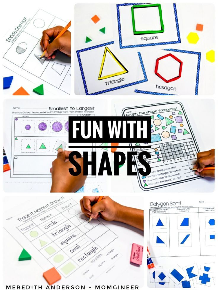 Printable 2d Shapes Poster Download Them Or Printshapes worksheets