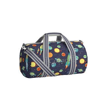 Small Duffle Bag, Mackenzie Small Duffle Navy Solar System