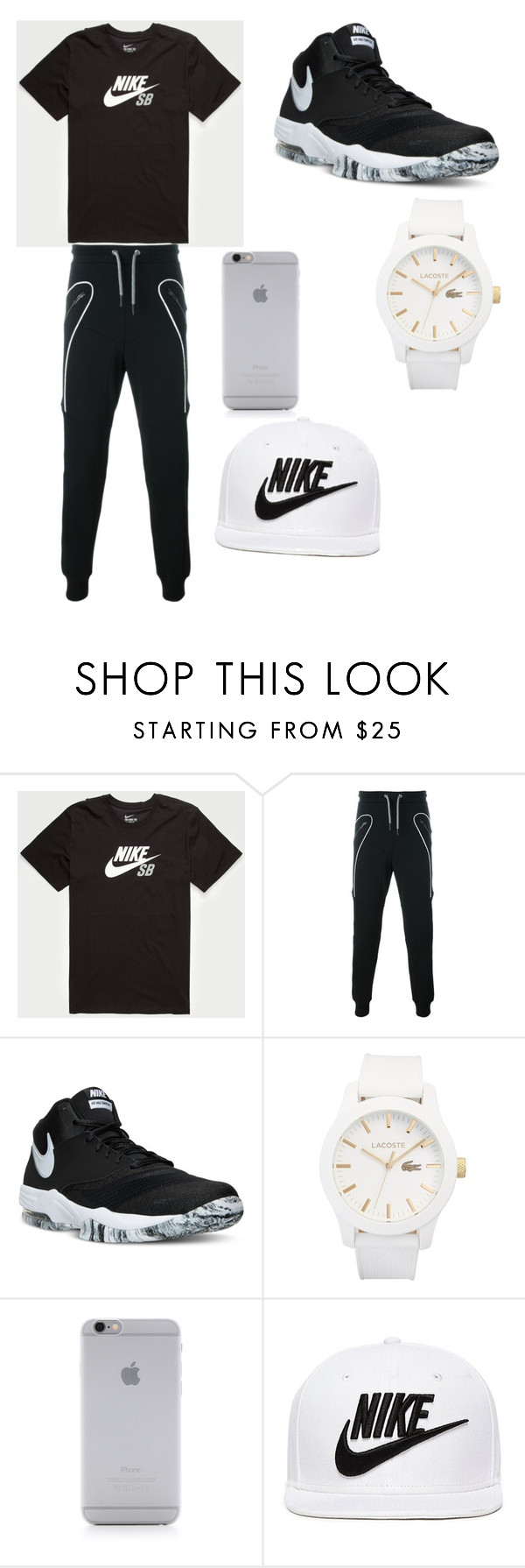 """""""Mr.PlayBoy"""" by sexyblack-1 ❤ liked on Polyvore featuring NIKE, Les Hommes, Lacoste, Native Union, men's fashion and menswear"""