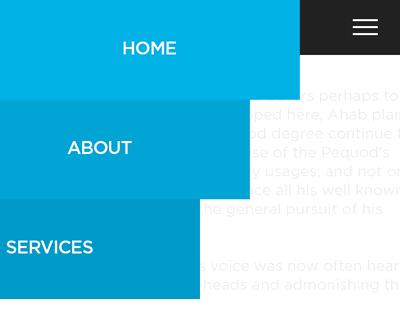 jQuery Slideout Menu #jQuery #side #menu #sidebar #animation