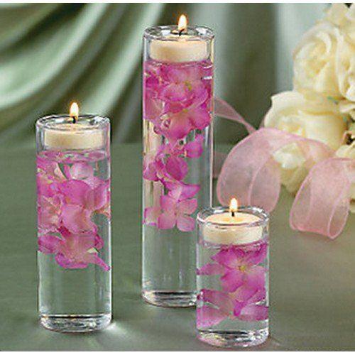 Set Of 3 Gl Cylinder Tealight Holder Ceremony Vase Wedding Centerpiece Fun Express Http