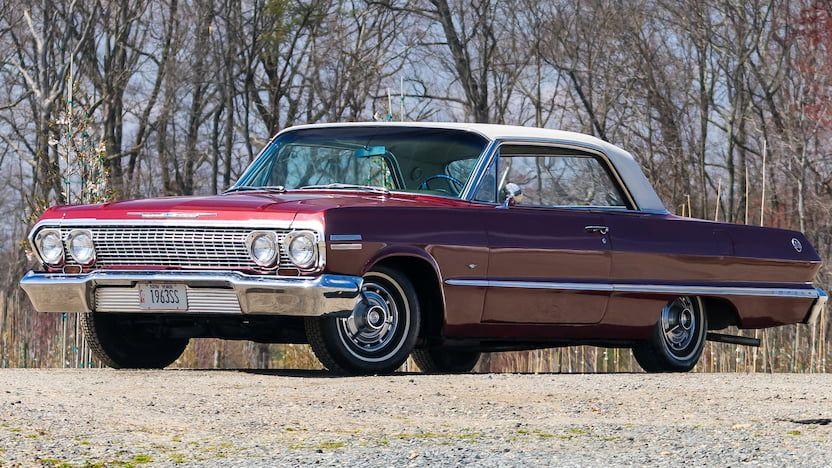 1963 Chevrolet Impala SS | W243.1 | Indy 2018 | Mecum Auctions