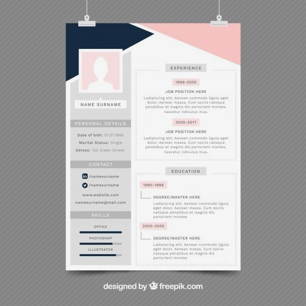 20 Beautiful Free Resume Templates For Designers Cv Template Vectors Photos And Psd Files Free Graphic Design Resume Resume Design Template Resume Design