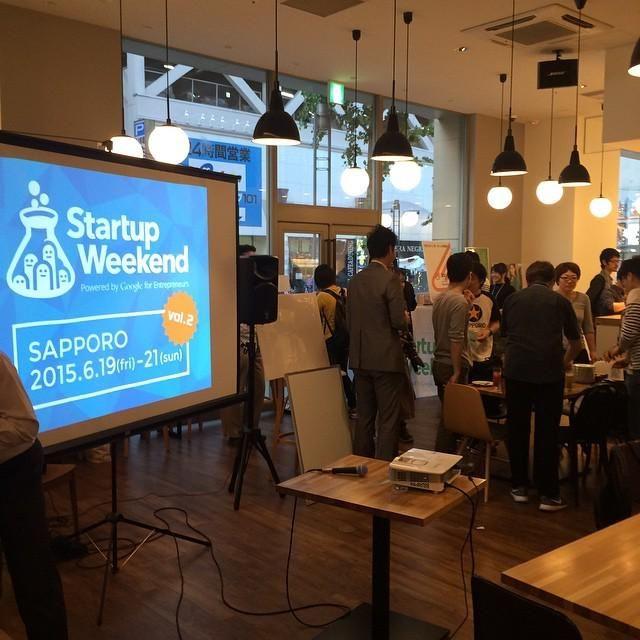 StartupWeekendSapporoはじまったよ!スタッフとして参加&キタゴエで速報レポート書くよ! #swsappo http://ift.tt/1MRtPct