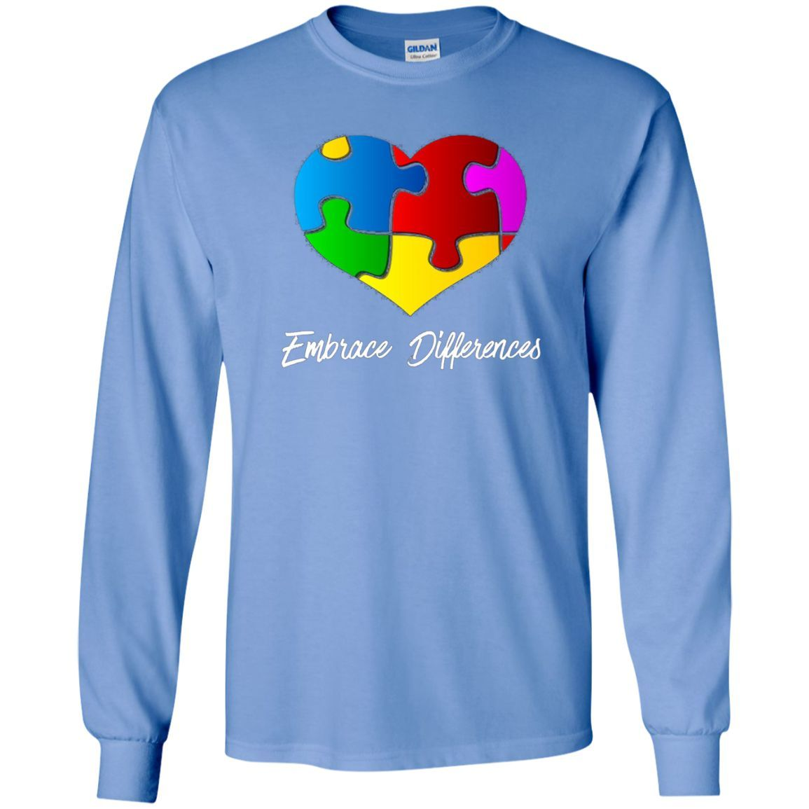 Autism awareness embrace differences autistic support ls ultra
