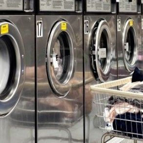 Business For Sale Laundromat In Busy Street Brookline Ma It Has 16 Washers And 14 Dryers This Maytag Equip Coin Laundry Laundry Equipment Laundry Dryer