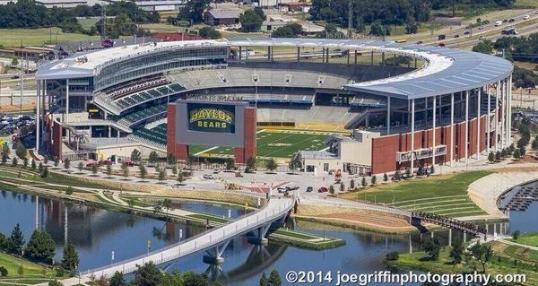 Baylor University Waco Texas New Stadium Mclane Stadium Football Stadiums Stadium