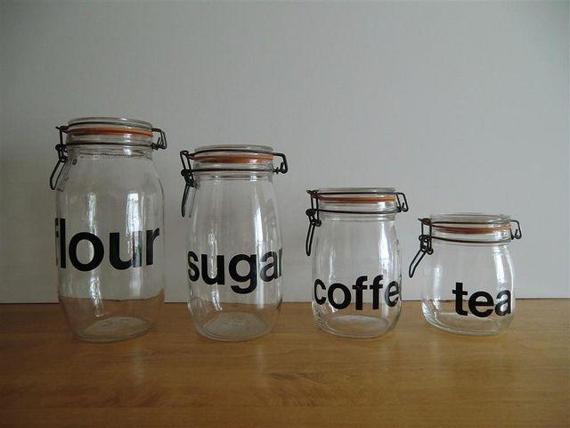 Cooking Ings Coffee Tea Jars