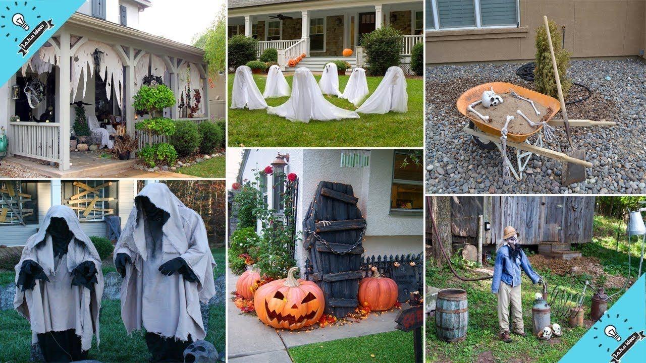 100 Cheap And Easy Outdoor Halloween Decor Diy Ideas Garden Idea