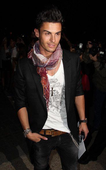 ca846cbef821 Baptiste Giabiconi   Baptiste Giabiconi Baptiste Giabiconi arrives at the Chanel  fashion .