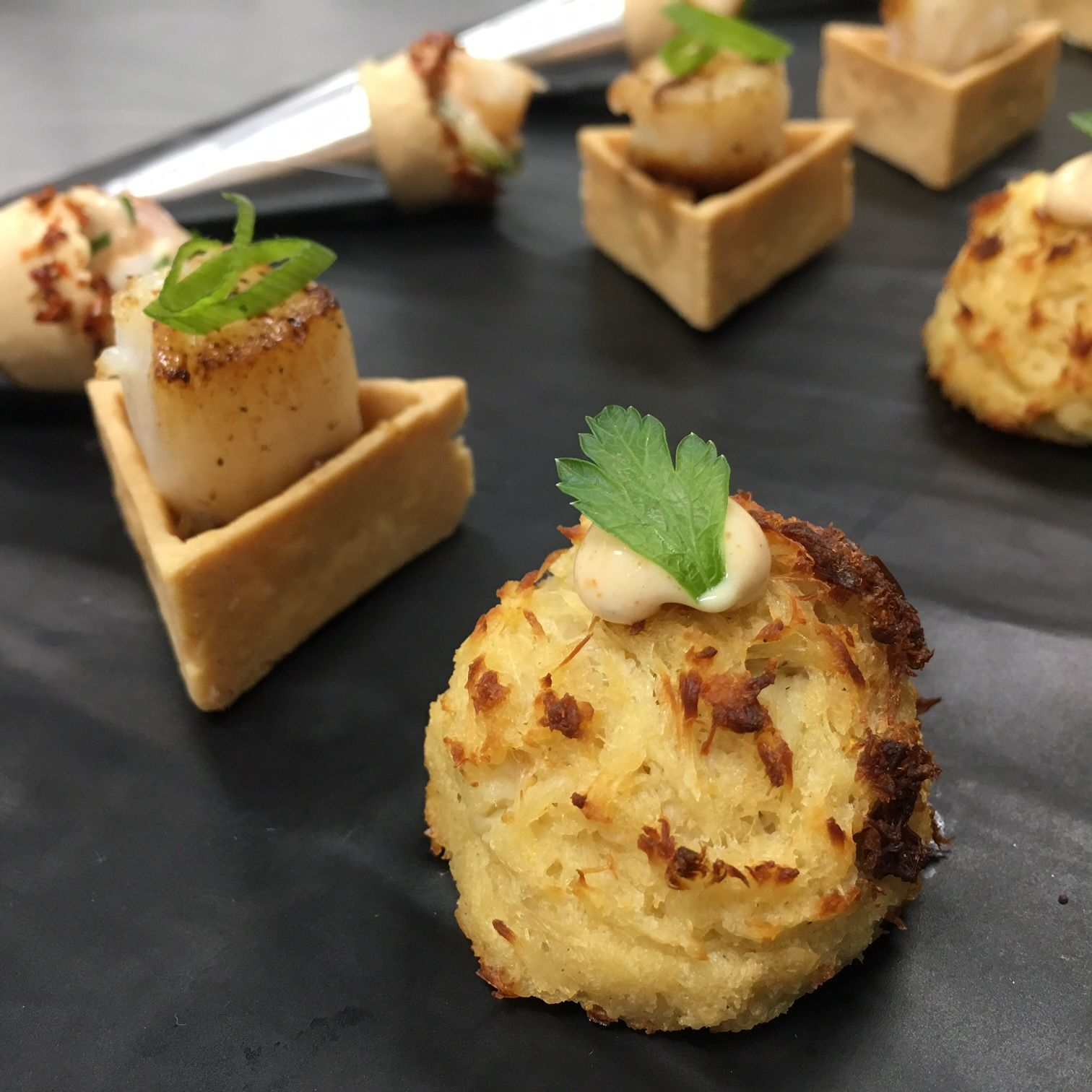 Appetizer menu corporate onsite catering maryland