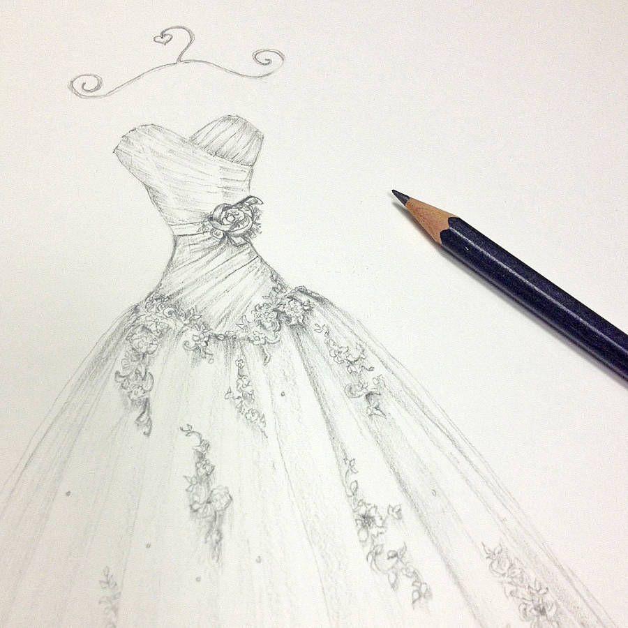 Undefined wedding dress drawings wedding drawing wedding art wedding dress illustrations drawings