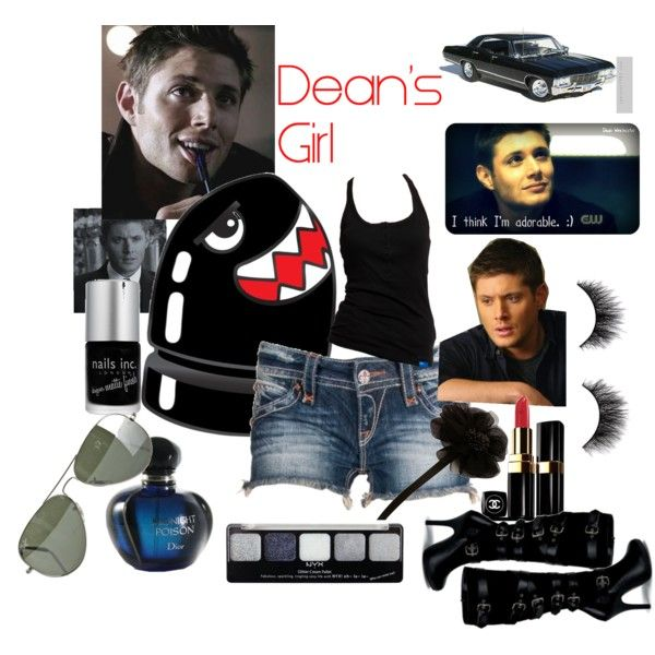 """""""Dean's Girl"""" by gwenykkr on Polyvore"""