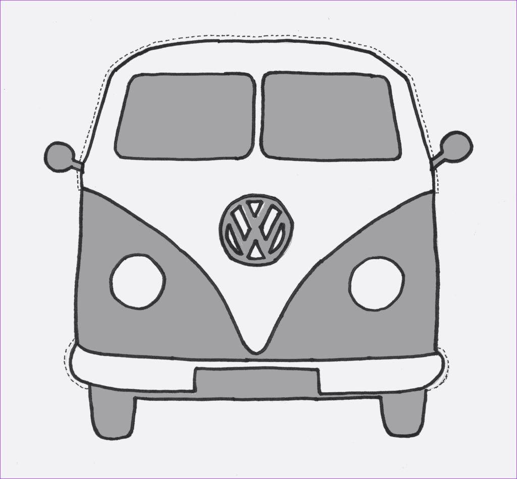 Vw Bus Malvorlagen 2   Furgonetas volkswagen, Dibujos de ...