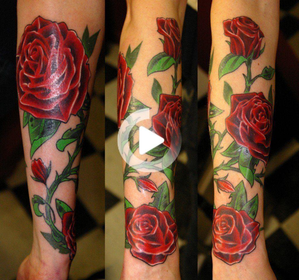 El Tatuaje De Rosas Como Rosa Negra Rosa Azul Rosa Púrpura Y Otros Colores De Tatuaje De Rosas Tatuaje De Enredadera Tatuaje De Vino Tatuajes De Rosas