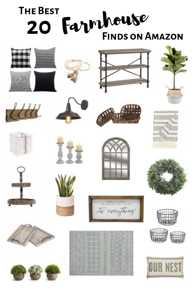 The Best Farmhouse Finds on Amazon | Simply2moms