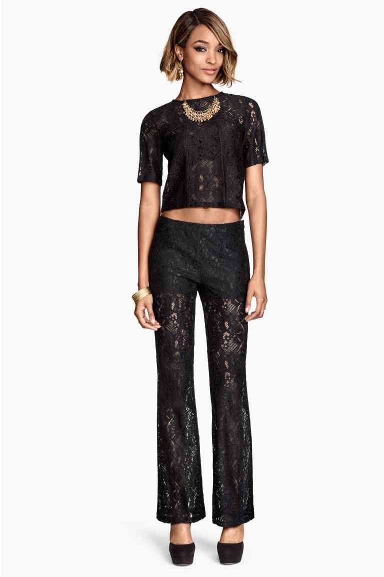 d970837e38460 Pantalon en dentelle   H M   Vêtements et accessoires en 2019 ...