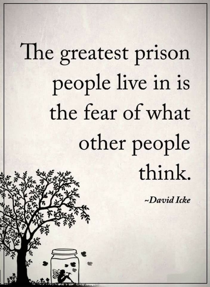 Quotes Most people spend all their lives in prisons without being aware about it. - Quotes