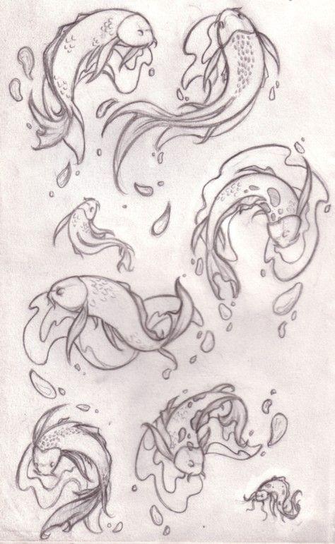 Fish pond design drawing - photo#43
