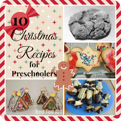 10 christmas recipes for preschoolers cooking with kids
