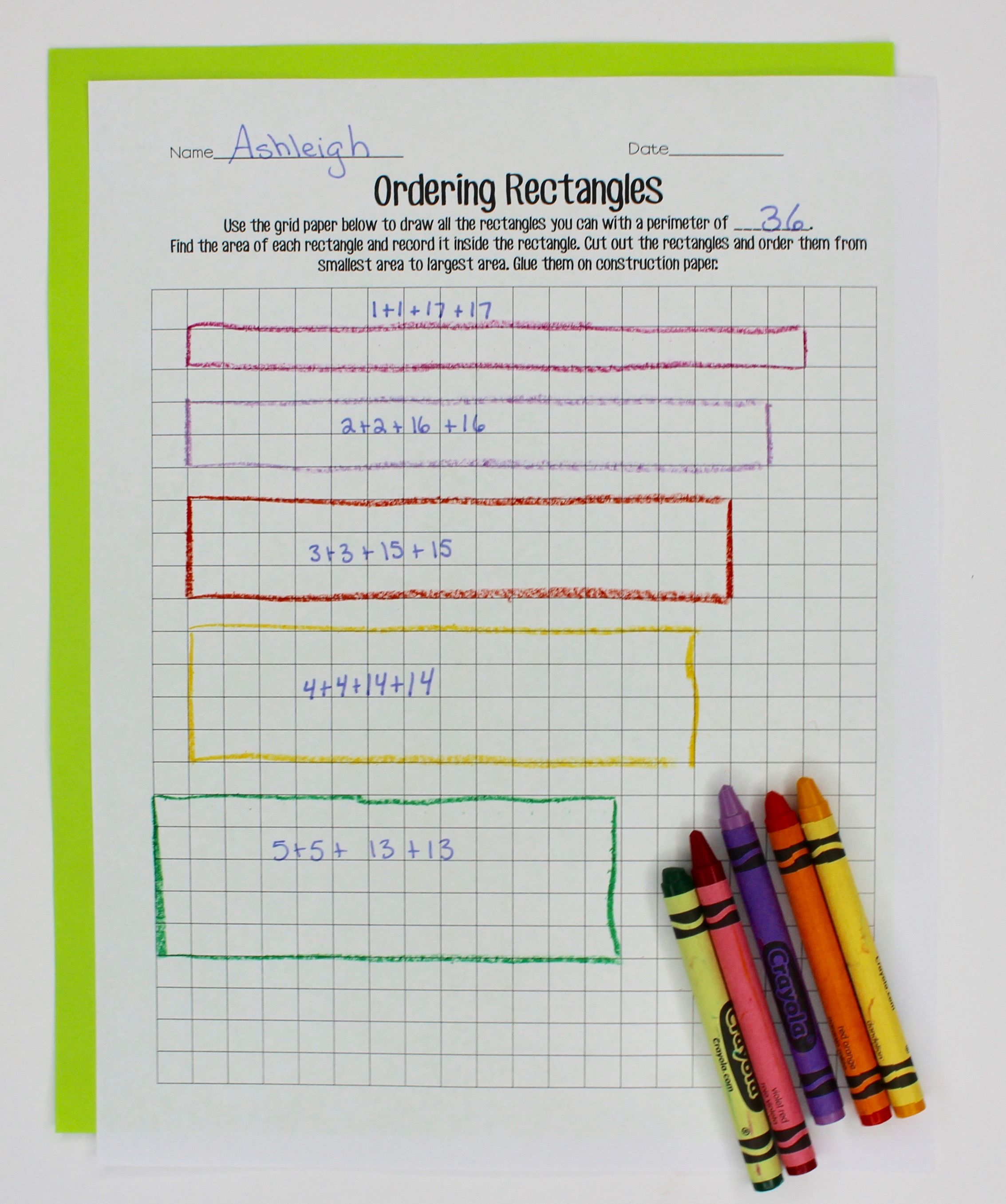 Teaching Area And Perimeter With Images