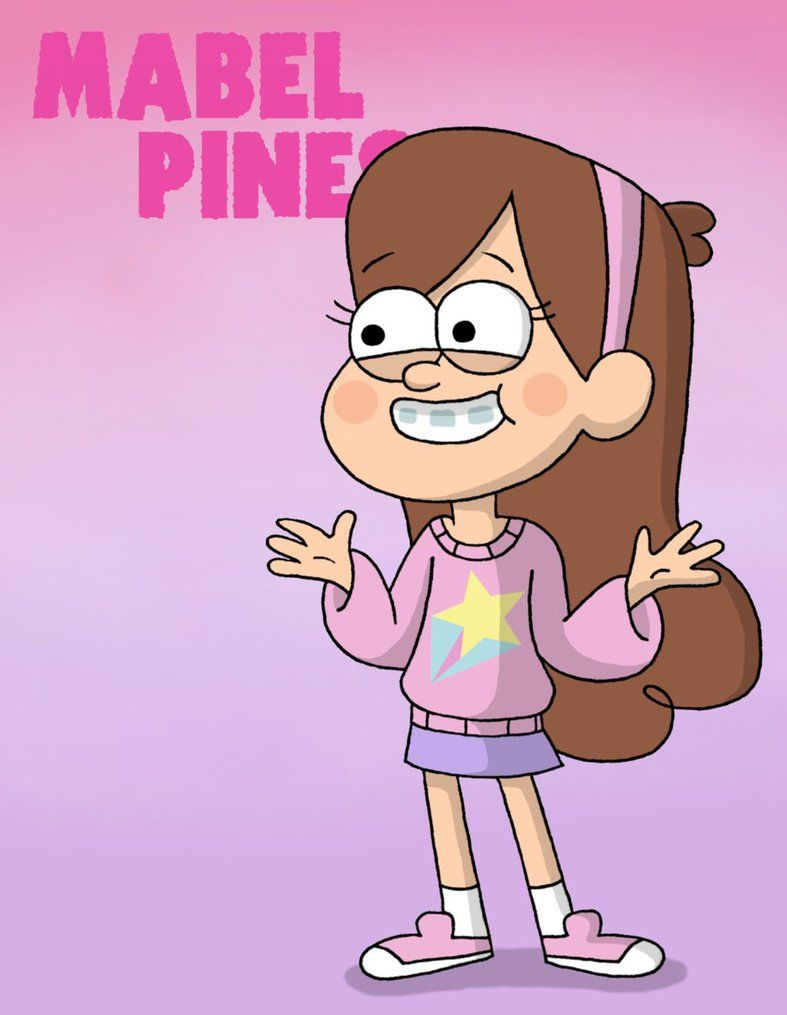 Mabel Pines In Retro Shooting Star Sweater By Thefreshknight