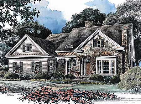 Plan 5601ad Picturesque Cottage French Country House Plans French Country House Country Style House Plans