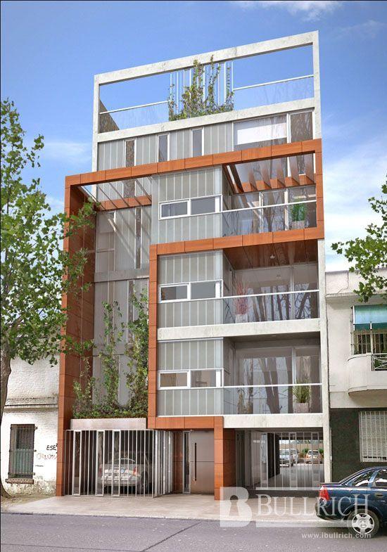 Resultado de imagen para viviendas multifamiliares for Fachadas de departamentos modernos