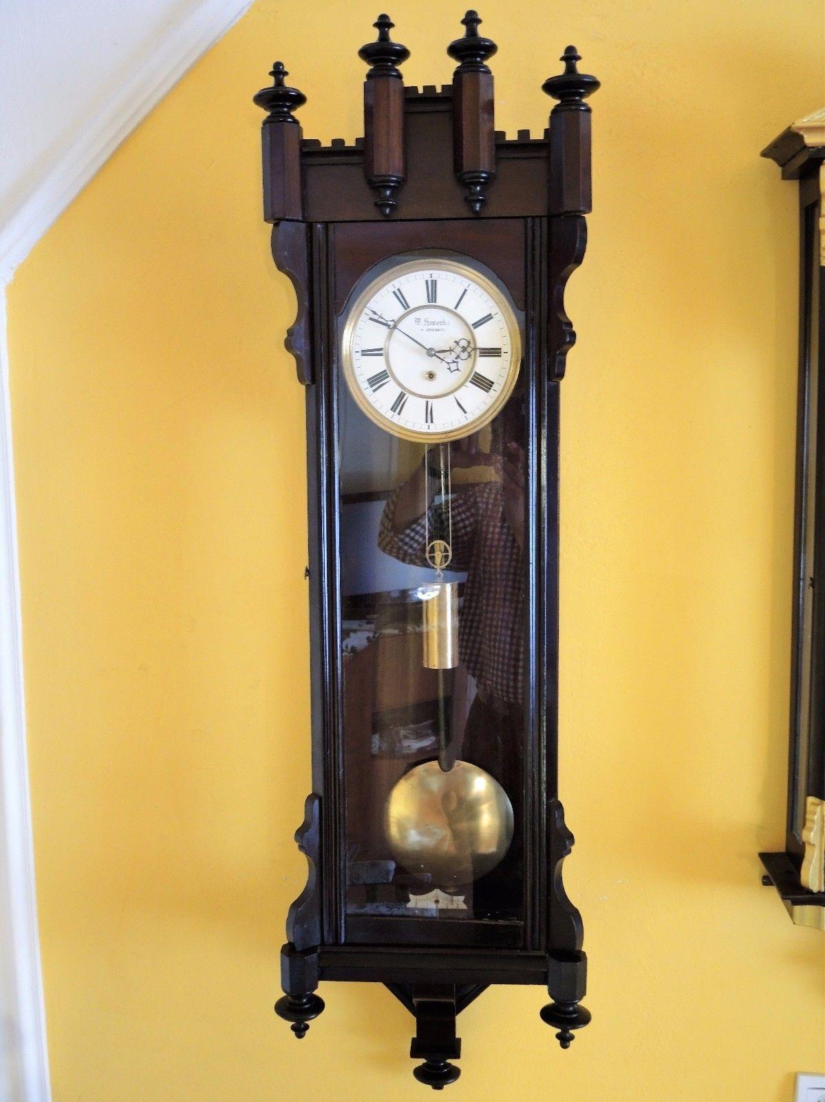 Old Antiques Antique Clocks Watches Pendulum Clock Fireplace