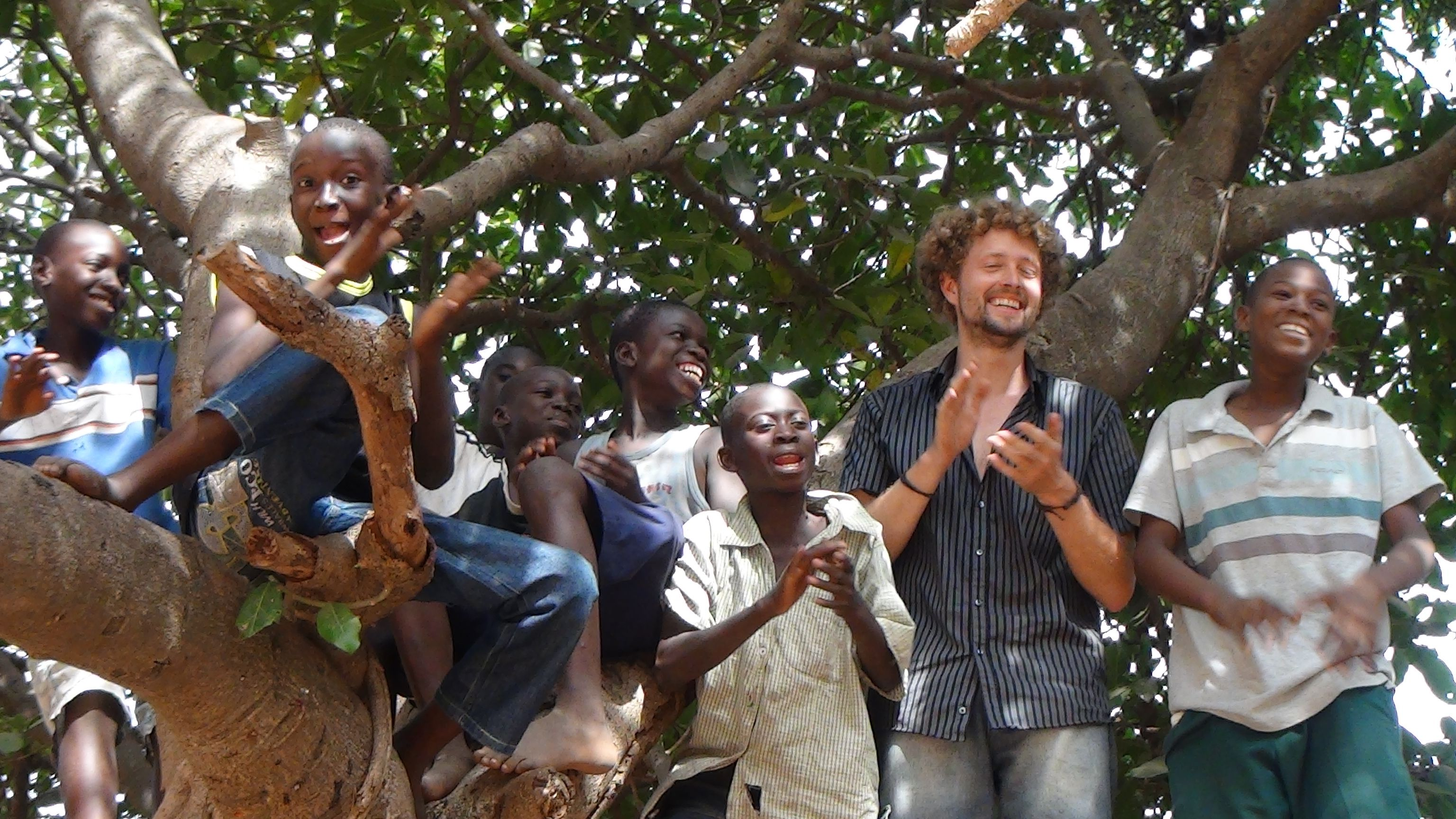 Fabian Dietrich On A Fundraising Tour In Afrika Fabandviviencom