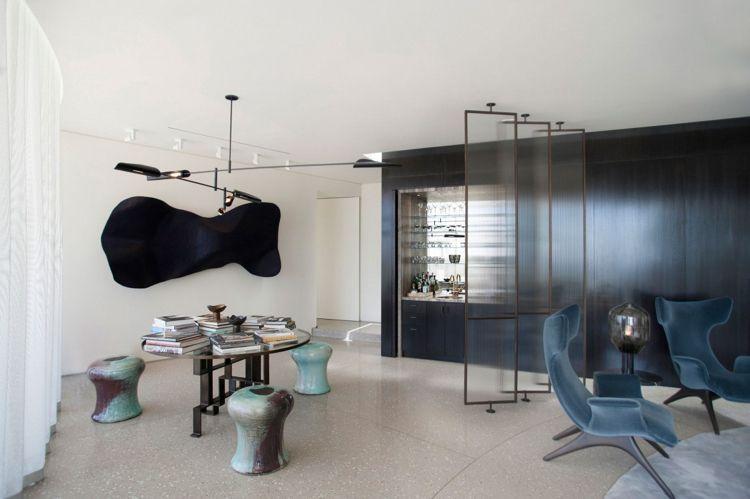 Eleganter Einrichtungsstil einer Luxus Villa in Beverly Hills, CA ...