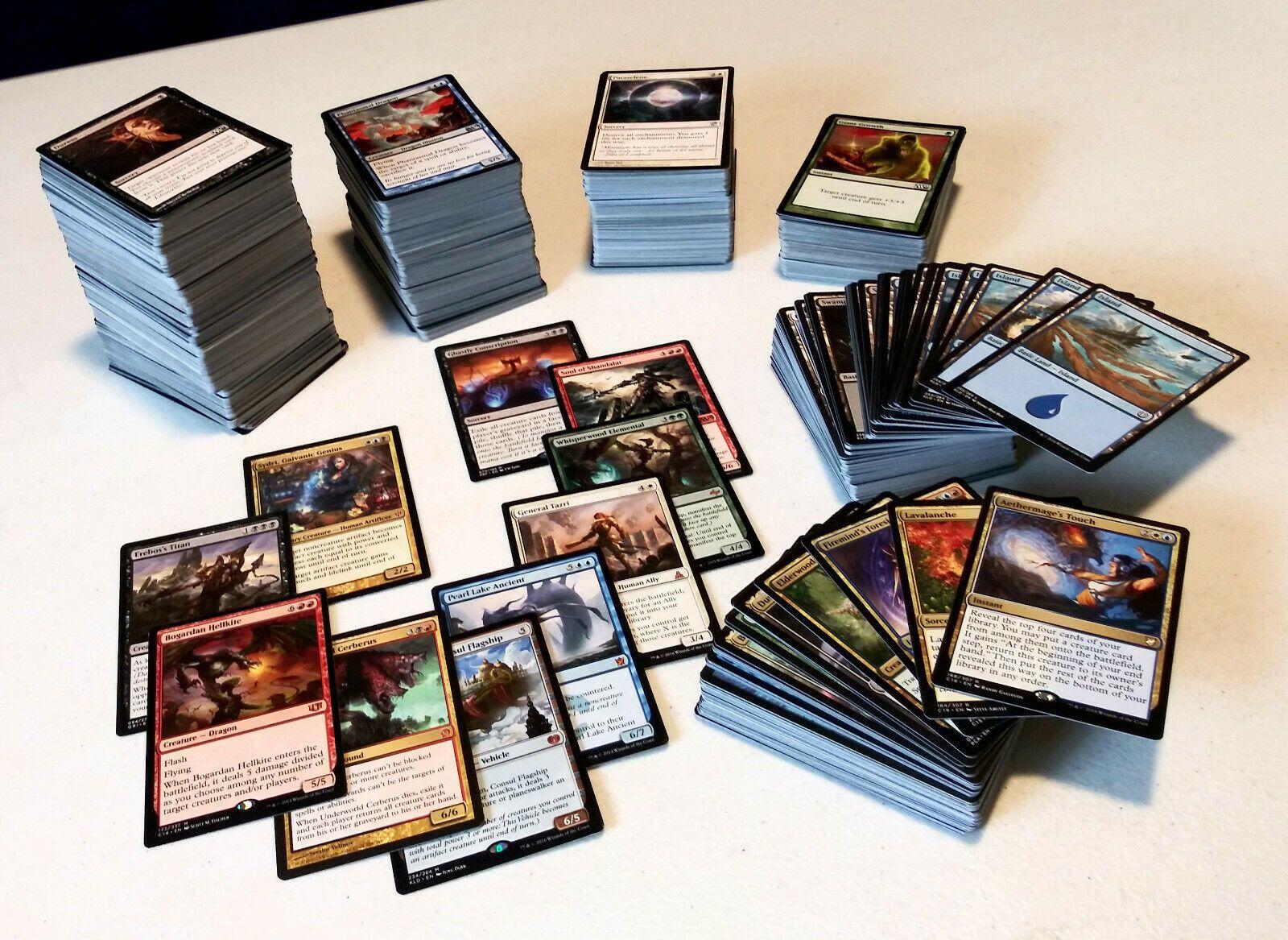 1000 Bulk Lot Magic The Gathering Cards MTG Card Toy Common Uncommon Random Set