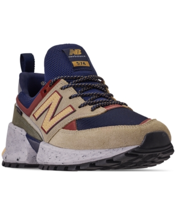 b9b787938757 New Balance Men s 574 Sport V2 Casual Sneakers from Finish Line - Blue 11.5