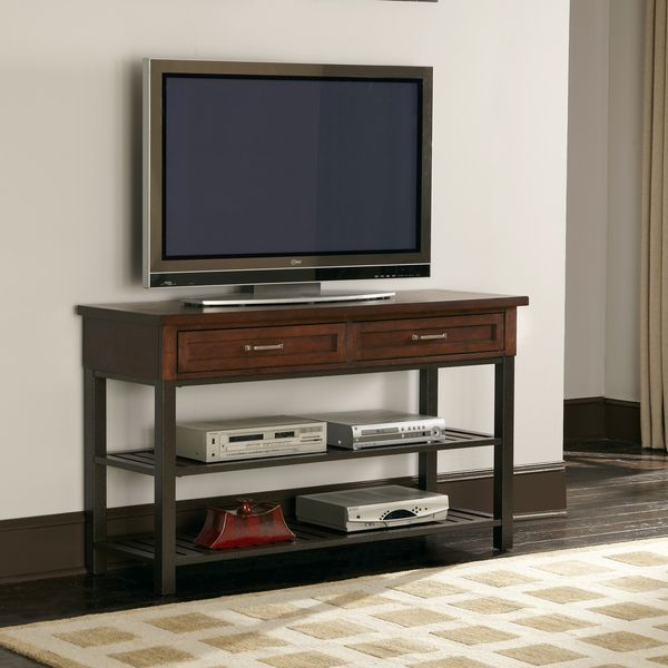 Cabin Creek Tv Media Stand Bit Too Wide But Tall Enough 31 5 Inches High X 53 75 18 Deep