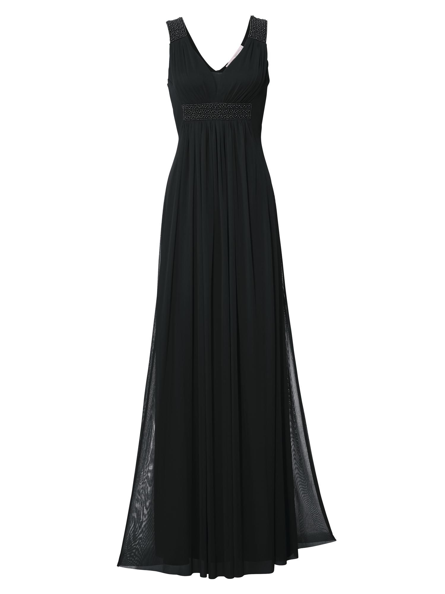 Ashley Brooke By Heine Abendkleid mit Zierperlen in Schwarz bei ...