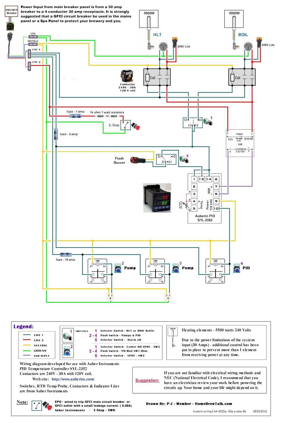 220v 30a Wiring Diagram Help Page 2 Home Brew Forums Brewery Air Compressor