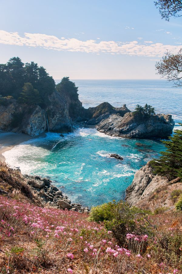 The most beautiful places in southern california for Pretty beaches in california