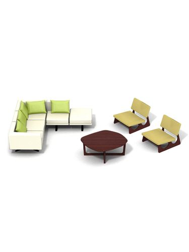 Maison Collection Contemporary Doll House Living Room Furniture