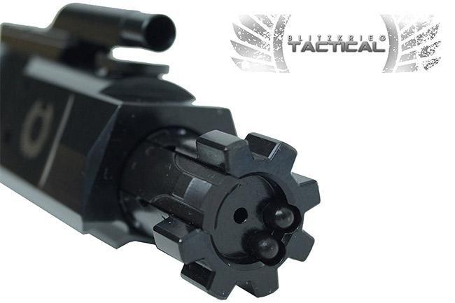 LR308 Dual Ejector Black Nitride - QPQ Bolt Carrier Group W