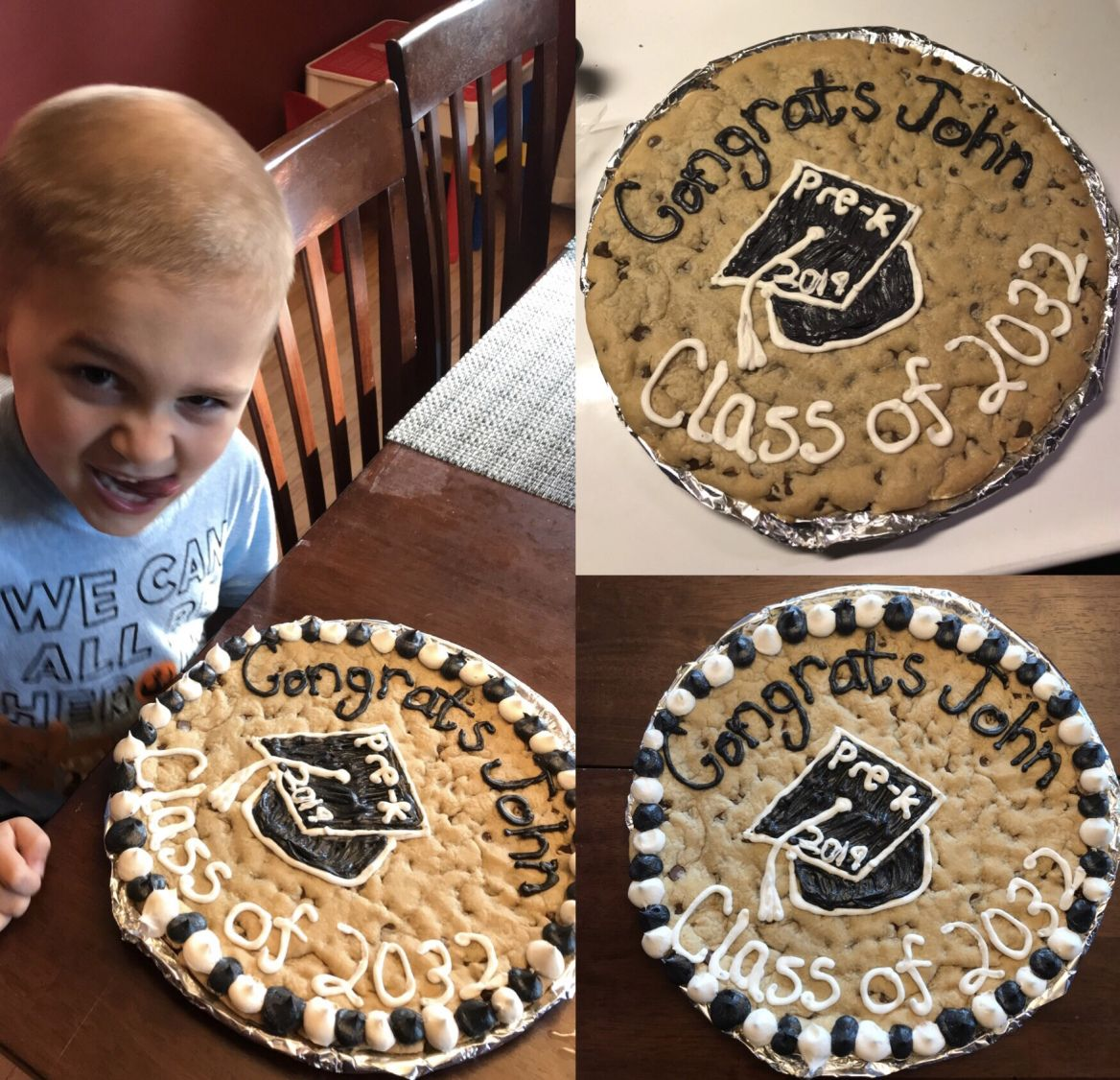 great american cookie cake decorations