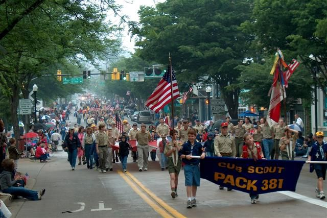 Memorial Day Parade In Historic Downtown Westminster