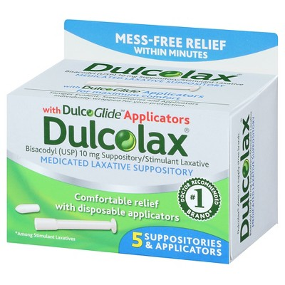 Superb Dulcolax Medicated Laxative Suppositories 5Ct In 2019 Pabps2019 Chair Design Images Pabps2019Com