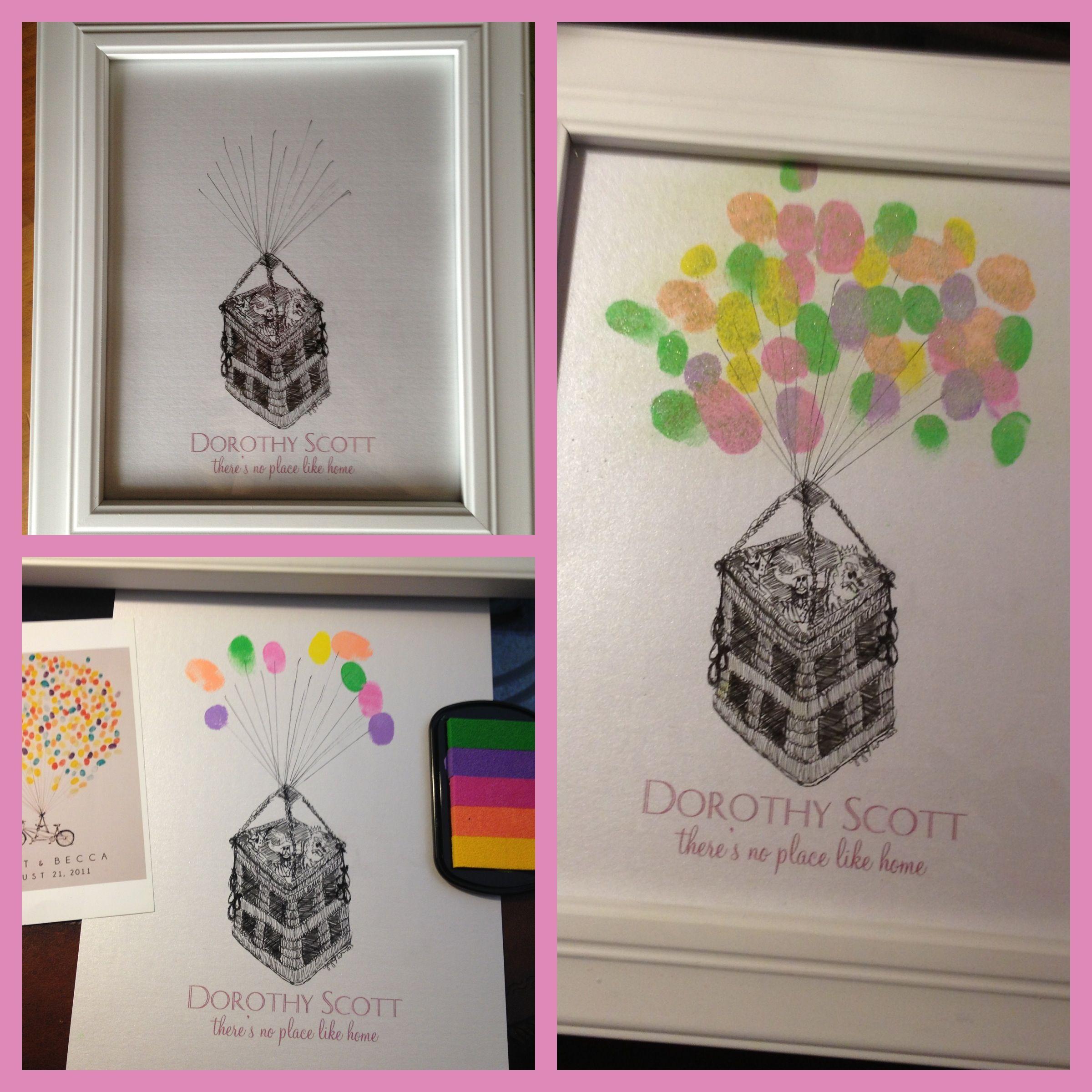 DIY Baby Shower Gift or DIY Wedding Guest Book or Bridal Shower Gift