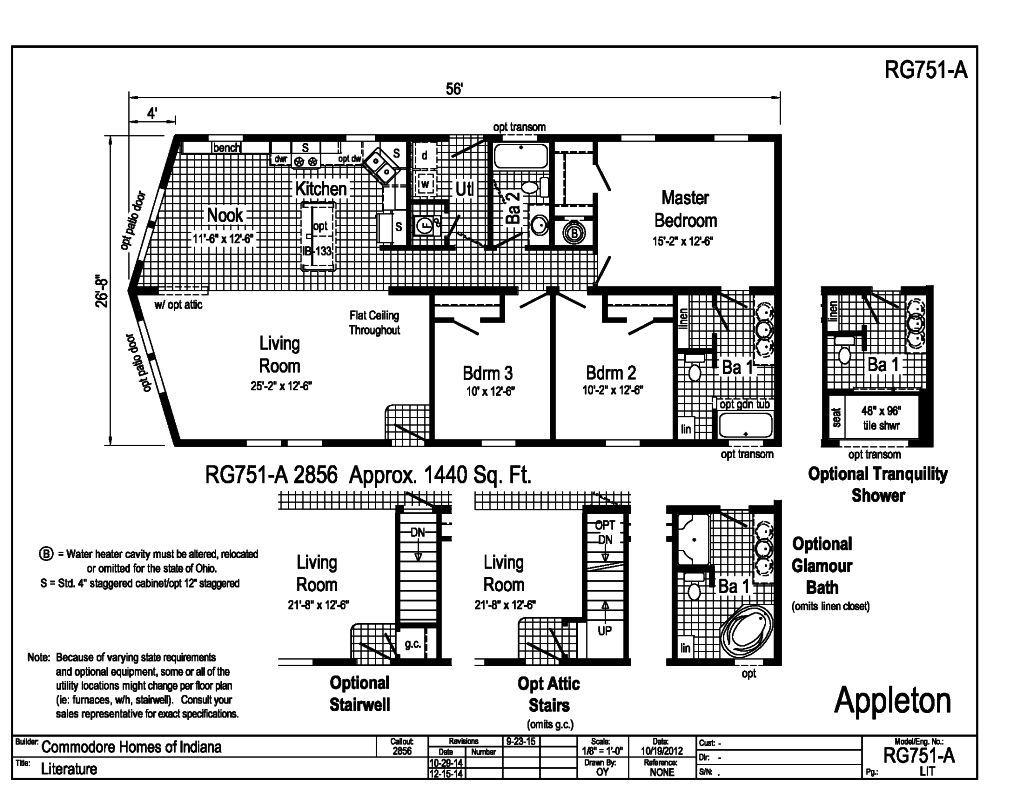 Grandville LE Modular Ranch Appleton RG751A Find a