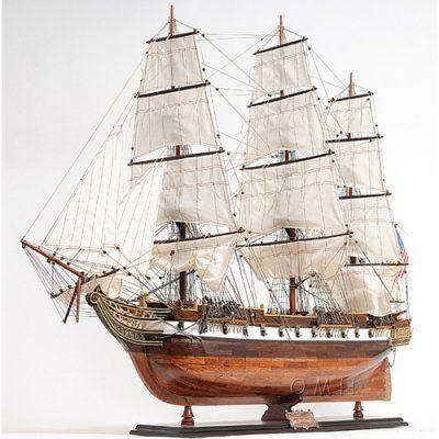 Old Modern Handicraft USS Constellation Xl Ship - T144, Durable