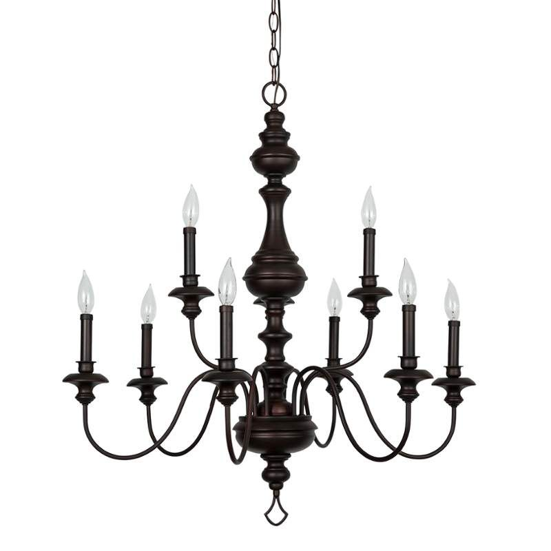 View The Park Harbor Phhl6319 Cardiff 32 Wide 9 Light 2 Tier Empire Style Chandelier