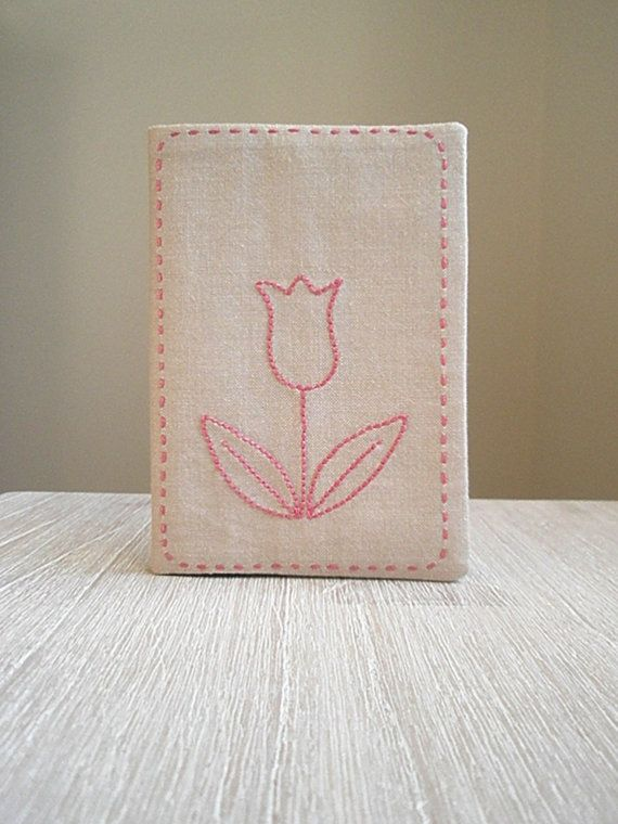 Dutch Passport Cover With Embroidery Of Tulip By